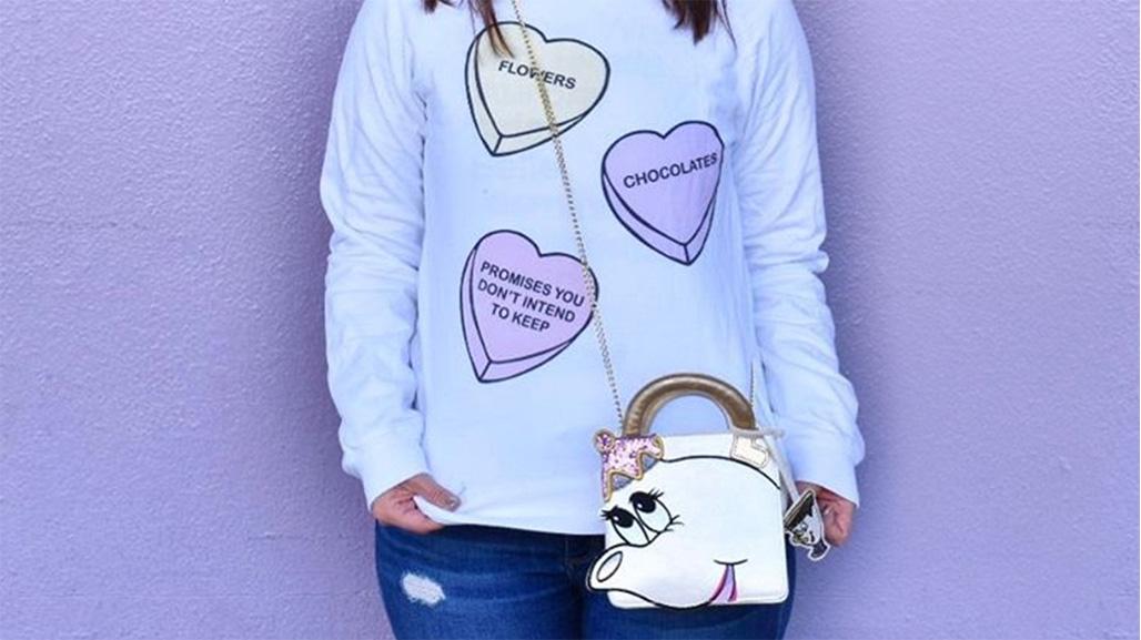 Beauty and the Beast Mrs Potts bag